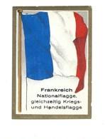 Chromos FRANCE FRANKREICH Pub Cigarettes Drapeau Flag Pavillon Marine TB 60 X 40 Mm 2 Scans Voir Description - Cigarette Cards