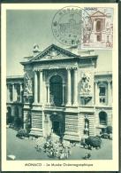 CM-Carte Maximum Card # 1960-Monaco # Sites & Monuments # Le Musée  Océanographique De Monaco - Cartas Máxima