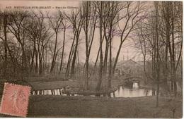 Cpa 59 Rare NEUVILLE-sur-ESCAUT  Parc Du Château ( De Heinzlin) Consstruit En 1853 Détruit En 1996 - France