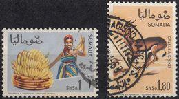 SOMALIA - 1968 - Lotto Composto Da Due Valori Obliterati: Yvert 89 E 92. - Somalia (1960-...)