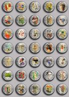 Carl Larsson Painting Fan ART BADGE BUTTON PIN SET 1 (1inch/25mm Diameter) 35 DIFF - Pin's
