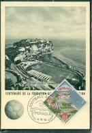 CM-Carte Maximum Card # 1963-Monaco # Sport # ASM # Football # Stade LouisI II - Monaco , Stadium,Stadion Louis II - Maximum Cards