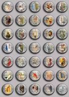 Carl Larsson Painting Fan ART BADGE BUTTON PIN SET 2 (1inch/25mm Diameter) 35 DIFF - Pin's