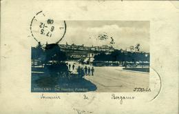 BERGAMO Jardin Public Superbe Carte-photo  De 1909 - Italie