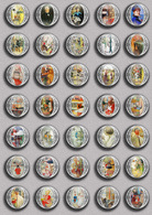 Carl Larsson Painting Fan ART BADGE BUTTON PIN SET 3 (1inch/25mm Diameter) 35 DIFF - Pin's