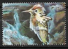 Bhutan - 1999 - MNH - Tufted Coquette (Lophornis Ornatus - Hummingbirds