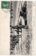 Flamme CHAMBON De Châlons Sur Marne Gare En Transit Sur Carte De 1913 - Postmark Collection (Covers)