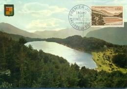 CM-Carte Maximum Card #1965-Andorre-Andorra #Tourisme,tourism #Landscape # (0,60f) Lac D´Engolasters, See,lake #An - Maximum Cards