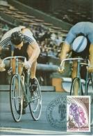 CM-Carte Maximum Card #1980-Andorre-Andorra #  Sport # Word Championship # Cyclisme,cycling,Radsport - Cartes-Maximum (CM)