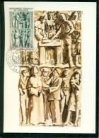 CM-Carte Maximum Card #1979-Andorre-French-Andorra #  Art # Sculpture # Troboda-Monument   (Liquidation) - Cartes-Maximum (CM)