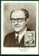 CM-Carte Maximum Card #1983-Andorre-Spain-Andorra # Jaime Sansa Nequi , Veguer Episcopal , - Cartes-Maximum (CM)