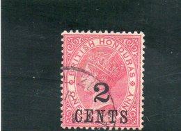 HONDURAS BRIT. 1888-9 O - Honduras Britannico (...-1970)