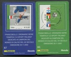 ITALIA 2002 - TESSERA FILATELICA - CAMPIONI DEL MONDO DI CALCIO  - MNH**- 399 - 6. 1946-.. Republik
