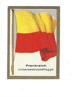 Chromos FRANCE FRANKREICH Pub Cigarettes Drapeaux Flags Pavillon Marine TB 62 X 40 Mm 2 Scans Voir Description - Cigarette Cards