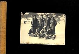 Photographie Originale : MEGEVE Haute Savoie Patinoire Curling Ernest Canepa Et Goutry - Lieux