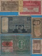 LOT BILLETS DE BANQUE 18 BANKNOTES - Monnaies & Billets