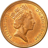 Monnaie, Grande-Bretagne, Elizabeth II, Penny, 1996, TB+, Copper Plated Steel - 1971-… : Monnaies Décimales