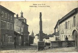 CPA N°23521 - GUERRE 1914-15-16 - DENEUVRE - LE HAUT DE LA HALLE - Frankreich