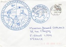 COVER NORGE 1989 CEAREX. POLARBJORN ALESUND - Stamps