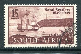 South Africa 1949 Centenary Of Arrival Of British Settlers In Natal Used (SG 127) - Oblitérés