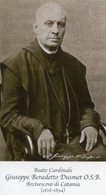 Santino Grande BEATO CARDINALE GIUSEPPE BENEDETTO DUSMET O.S.B. Arcivescovo Di Catania - PERFETTO P83 - Religione & Esoterismo