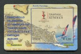 ITALIA 2005 - TESSERA FILATELICA - AMERICA'S CUP TRAPANI LOUIS VUITTON - MNH**- 258 - 6. 1946-.. Republik