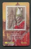 ITALIA 2005 - TESSERA FILATELICA - PAPA GIOVANNI PAOLO II - MNH**- 259 - 6. 1946-.. Republik