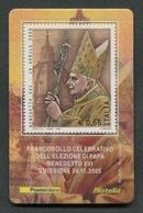 ITALIA 2005 - TESSERA FILATELICA - PAPA BENEDETTO XVI - MNH**- 260 - 6. 1946-.. Republik