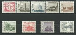 POLOGNE: **, N°YT 1555 à 1563, Série, TB - 1944-.... Republik