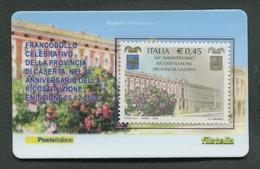 ITALIA 2005 - TESSERA FILATELICA - ANNIVERSARIO DELLA RICOSTITUZIONE PROVINCIA DI CASERTA - MNH**- 261 - 6. 1946-.. Republik