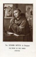 Santino VENERABILE GIOVANNI BATTISTA DA BORGOGNA Ordine Dei Frati Minori - PERFETTO P83 - Religione & Esoterismo