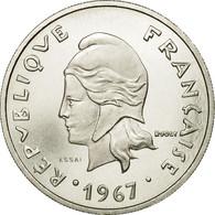 Monnaie, Nouvelle-Calédonie, 20 Francs, 1967, Paris, ESSAI, FDC, Nickel - Nouvelle-Calédonie