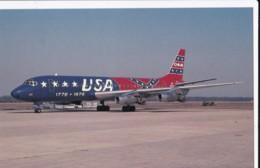 AQ87 Aviation - Overseas National Airways McDonnell Douglas DC-8-21 - 1946-....: Modern Era