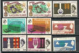 Années 1965 & 1966 , 9 Timbres Oblitérés 1 ère Qualité. Côte 70,00 Euro - Timbres