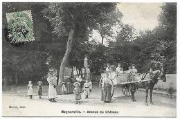 MAGNANVILLE - Avenue Du Château - Magnanville