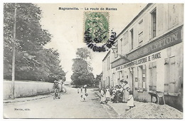 MAGNANVILLE - La Route De Mantes - Magnanville
