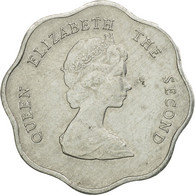 Monnaie, Etats Des Caraibes Orientales, Elizabeth II, Cent, 1981, TTB - Caraïbes Orientales (Etats Des)
