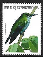 Central Africa - 2001 - MNH - Cuban Emerald (Chlorostilbon Ricordii - Hummingbirds