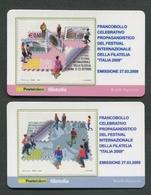 ITALIA 2009 - TESSERA FILATELICA - FESTIVAL INTERNAZIONALE DELLA FILATELIA - ITALIA 2009 - MNH**- 264 - 6. 1946-.. Republik
