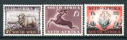 South Africa 1953 Definitives Set HM (SG 146-148) - South Africa (...-1961)