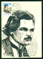 CM-Carte Maximum Card # 1983-FINLANDE-SUOMI # Music # Celebrity #  Toivo Kuula, Compositeur,Komponist,composer - Maximum Cards & Covers