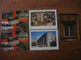 France - Vienne - 5 Cartes De MONCONTOUR - Other Municipalities