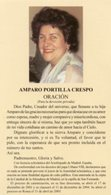 Santino Grande AMPARO PORTILLA CRESPO (Testi In Spagnolo) - PERFETTO P83 - Religione & Esoterismo