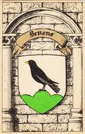 Armoirial Des Communes Vaudoises. Drapeau De Denens - VD Vaud