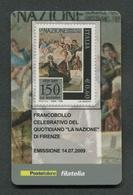 ITALIA 2009 - TESSERA FILATELICA - ANNIVERSARIO FONDAZIONE QUOTIDIANO LA NAZIONE - MNH**- 271 - 6. 1946-.. Republik