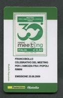 ITALIA 2009 - TESSERA FILATELICA - MEETING PER L'AMICIZIA FRA I POPOLI RIMINI - MNH**- 272 - 6. 1946-.. Republik