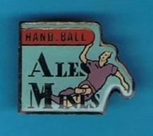 PIN'S //  ** HAND BALL / ALÈS MINES ** - Handball