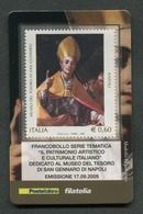 ITALIA 2009 - TESSERA FILATELICA - MUSEO DEL TESORO DI SAN GENNARO DI NAPOLI - MNH**- 273 - 6. 1946-.. Republik