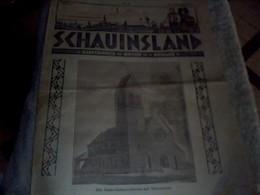 Journal Alsacien  De  1930  Schauinsland No36 Ecrit En Allemand - Livres, BD, Revues