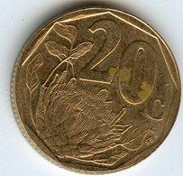 Afrique Du Sud South Africa 20 Cents 1997 KM 162 - Afrique Du Sud